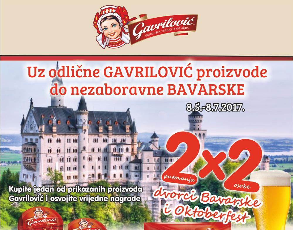 Uz odlične Gavrilović proizvode do nezaboravne Bavarske