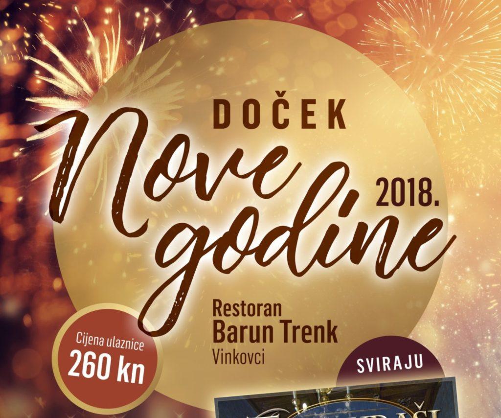 Doček Nove godine dvorane Barun Trenk