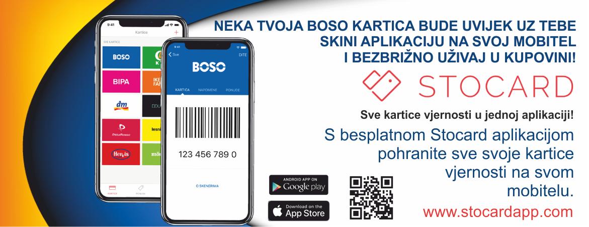 Boso kartica na vašem mobilnom uređaju!